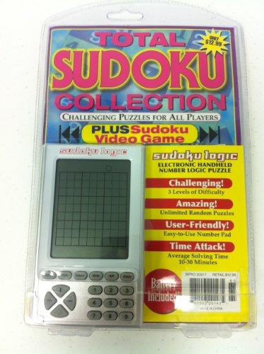 Electronic Handheld Sudoku Number Logic Puzzle