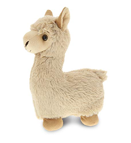 DolliBu Beige Llama Stuffed Animal Plush Toy Kids Adults Huggable Cuddle Plushie Llama Gifts Cute Stuffed Animals for Toddler Baby First Teddy Bear Super Soft Toys for Girls Boys 11 Inch