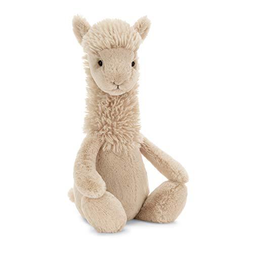 Jellycat Bashful Llama Stuffed Animal Medium 12 inches