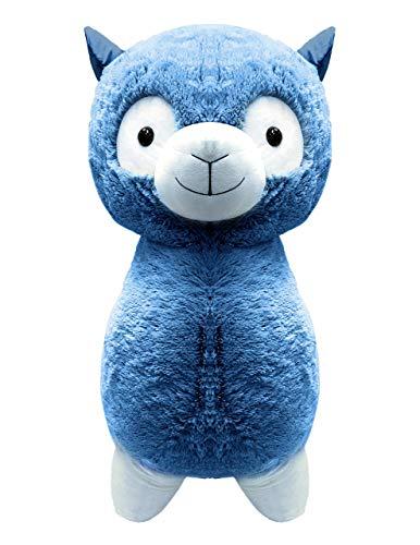 Peek-A-Boo Toys Dolly Llama Stuffed Animal Plush Toy Gift  Precious Blue Fuzzy Friend  15 Inches  Blue Soft 15 Dolly Llama Plush