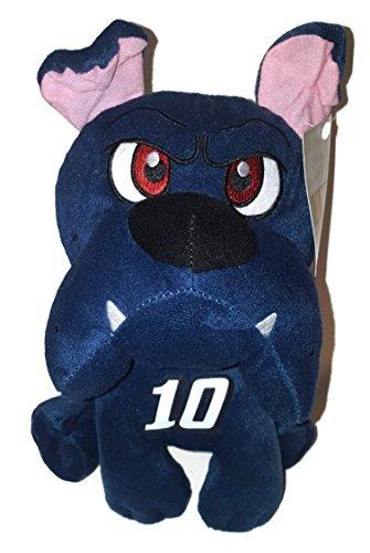 10 Danica Patrick NASCAR 10 inch Blue Bulldog Stuffed Animal Plush Toy Stewart Haas by NASCAR