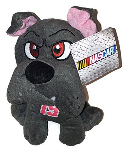 19 Carl Edwards NASCAR 10 inch Gray Bulldog Stuffed Animal Plush Toy
