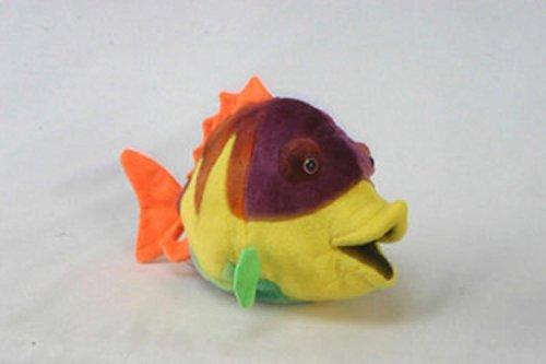 Set of 4 Lifelike Handcrafted Extra Soft Plush Colorful Fish Stuffed Animals 12