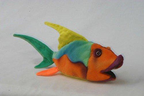 Set of 4 Lifelike Handcrafted Extra Soft Plush Colorful Fish Stuffed Animals 9