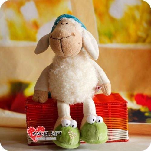 HOT 25 CM Sleepy sheep Stuffed Animals soft toy baby dolls plush toy GIFT