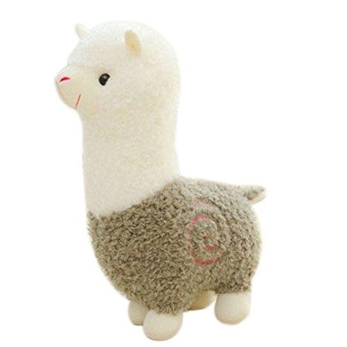 Remeehi Kawaii Cute Alpaca Plush Toy Llama Stuffed Animal Kids Soft Plush Alpacasso Baby 100 Plush Stuffed Animals Sheep Gifts Green 65cm