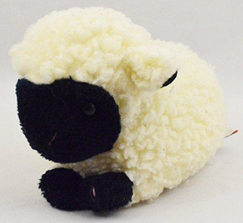 Vintage 1995 Ty Classic Plush WOOLY Lamb Sheep Beanbag Stuffed Animal