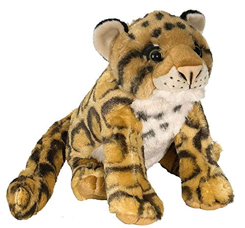 Wild Republic Clouded Leopard Plush Stuffed Animal Plush Toy Gifts for Kids Cuddlekins 12 Inches