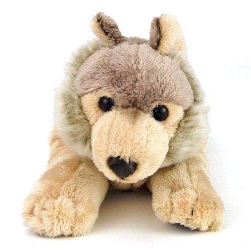 Realistic stuffed wolf Nesoberi series