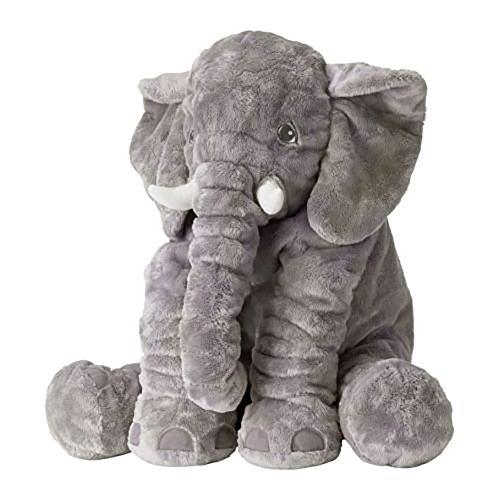 VENSHINE Stuffed Elephant Plush Pillow Pals Cushion Plush Toy