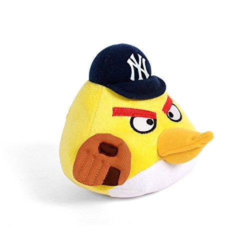 MLB New York Yankees Angry Bird Plush Toy Small Yellow