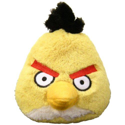Angry Birds 5 Basic Plush Yellow Bird Toy