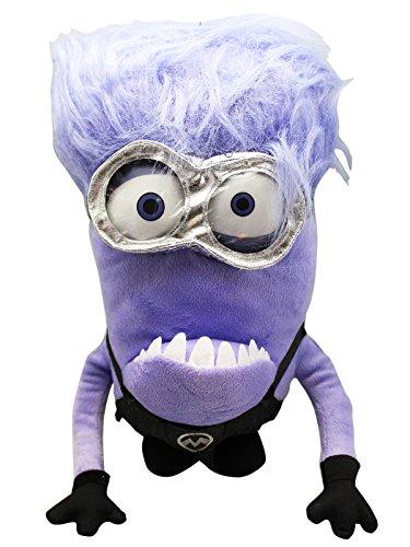 Despicable Me 2 Evil Minion Plush toy With Secret Zipper Pocket 15in