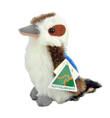Australian Made Kookaburra Bird Stuffed Animal Plush Toy Medium