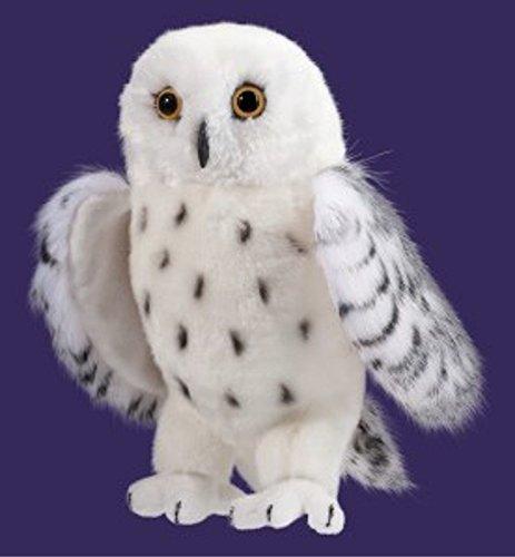 SNOWY OWL 10 Plush Stuffed Bird Animal Toy NEW