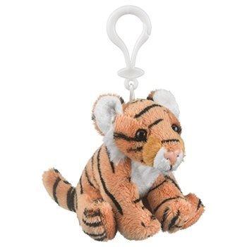 Wildlife Artists Plush Tiger Stuffed Animal Backpack Clip Toy Keychain Wildlife