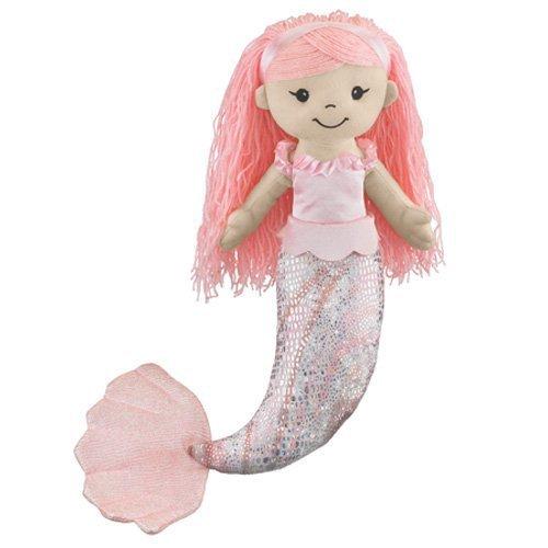 18 Pink Mermaid Plush Doll