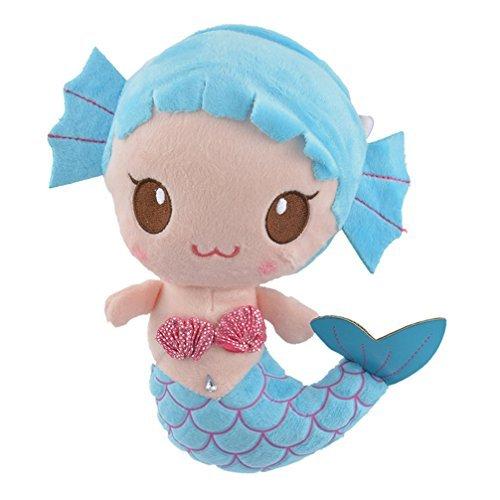 Encounter Blue Mermaid Plush Doll Stuffed Animals