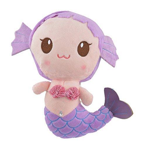 Encounter Purple Mermaid Plush Doll Stuffed Animals