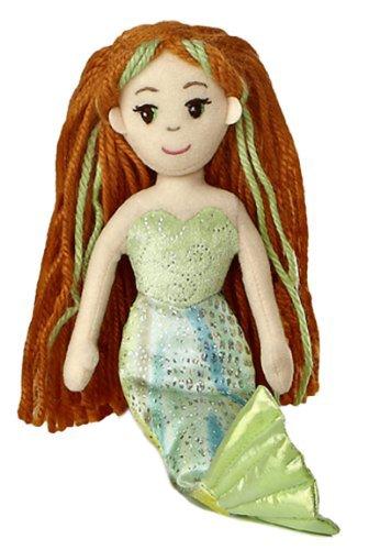 Merial ~10 Mini-Plush Sea Sparkles Mermaid Plush Doll Series S