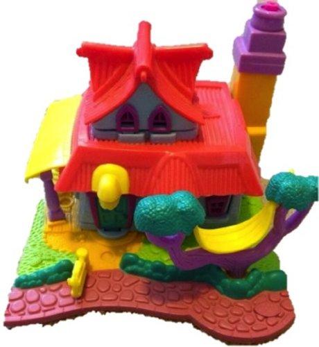 1994 Vintage Polly Pocket Toys Light-up Kitty House Bluebird Toys