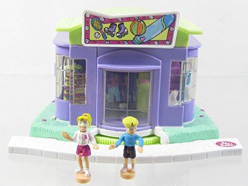 2000 Polly Pocket Magical Movin Sports Shop Bluebird Toys