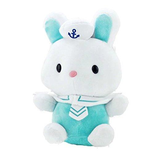 Cute Navy Rabbit Plush Toys Cartoon Stuffed Animal Baby Doll 3