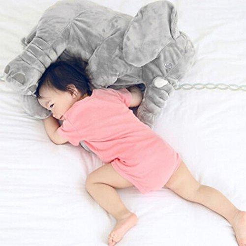 Romanstii Cute 13 Soft Plush Baby Cartoon Stuffed Animal Children Kids Toys Gray