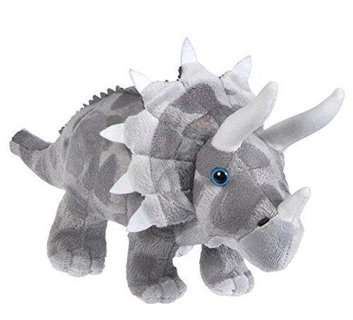 Triceratops 13 Animal Den Plush Dinosaur