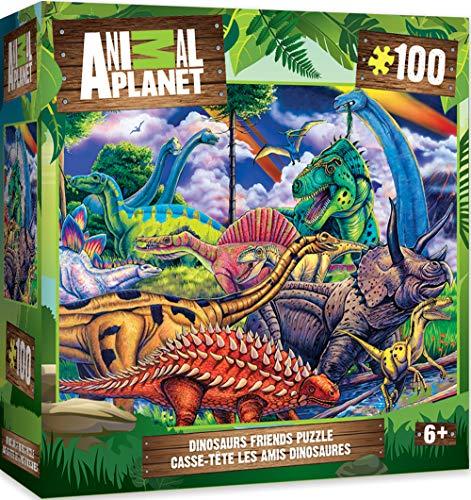 Animal Planet - Dinosaur Friends 100Pc Puzzle