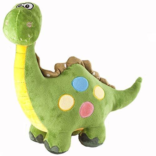 Marsjoy 16 Green Stuffed Dinosaur Plush Stuffed Animal Toy for Baby Gifts Kid Birthday Party Gift