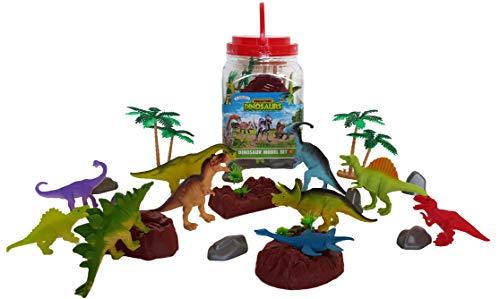 Playscene Large Dinosaur Animal Toy Figurines Educational Animal Figurines Dinosaur