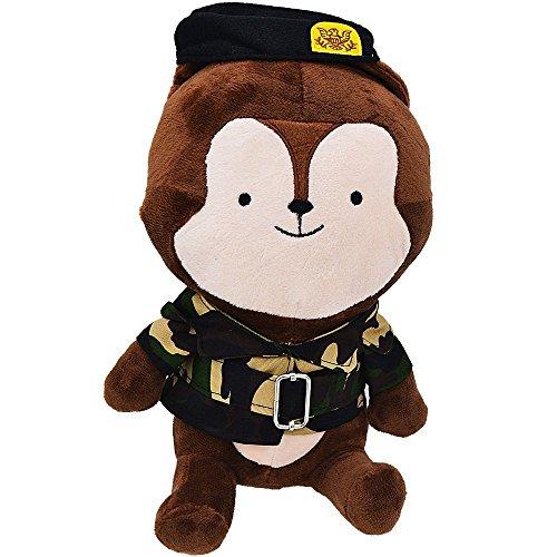 Stuffed Animals KAGU CULTURE - Descendants Of The Sun Cartoon Dolls Camouflage Fox Anime Toys - 1575inches
