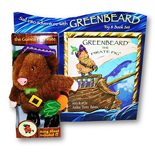 Greenbeard the Pirate Pig Plush Toy Book Set