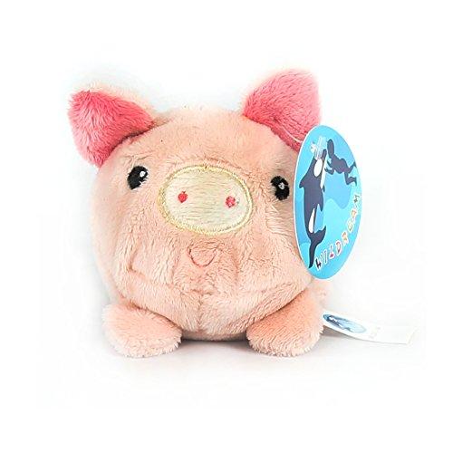 WILDREAM Beanie Balls Pink Pig by Plush Toys