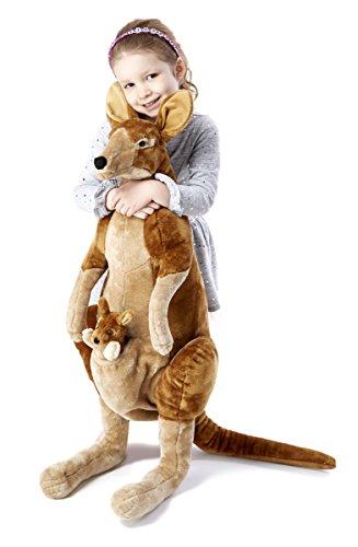 Melissa Doug Plush Kangaroo Joey