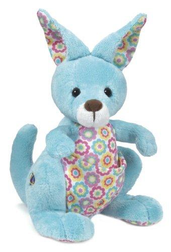 Webkinz Springy Kangaroo Plush Toy with Sealed Adoption Code by Webkinz