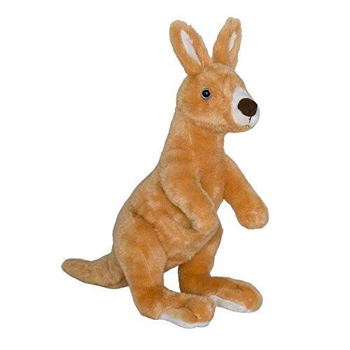 Wild Planet 34 cm Classic Kangaroo Plush Toy Multi-Colour by Wild Planet