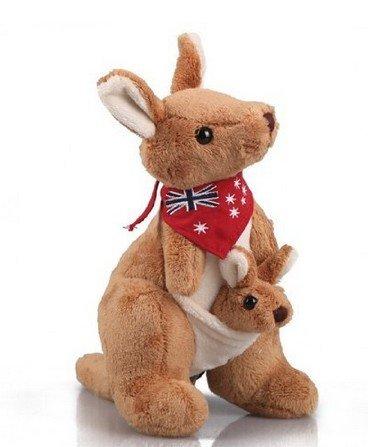 semmerning-Lovely kangaroo plush toys for their children