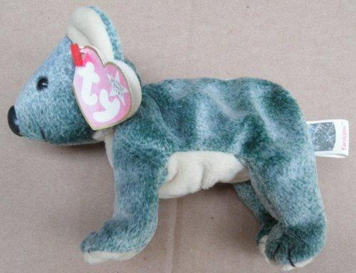 TY Beanie Babies Eucalyptus the Koala Bear Plush Toy Stuffed Animal