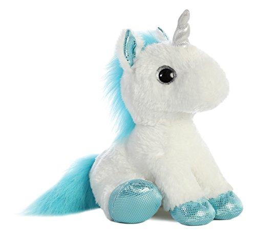 Aurora 60957 Sparkle Tales Frosty Unicorn Soft Toy White