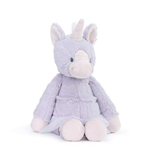 DEMDACO Sparkle The Unicorn Soft Purple 15 inch Plush Fabric Stuffed Animal Toy