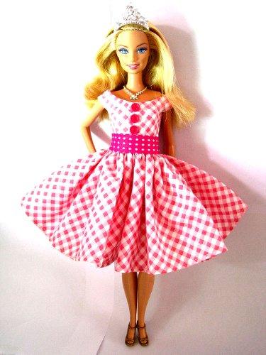 Barbie Doll Dresses Barbie Clothes Fashion Vintage Handmade Valentine Toys