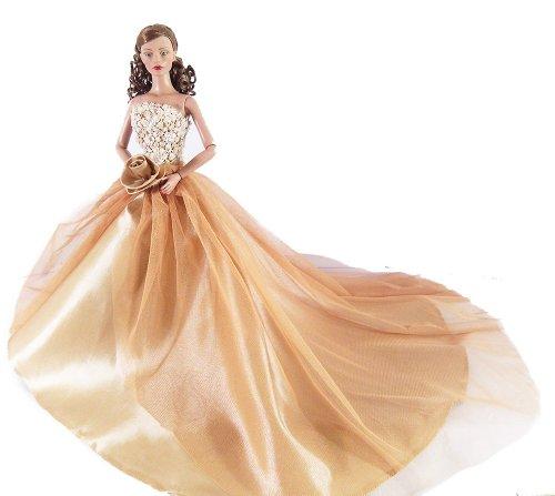 Luxury Fashion Handmade SET Bridal Wedding Dresses Clothes Costume Ellowyne Wilde Tonner Tyler Sydney American 16 Doll Valentine Toys By Grandroomchic
