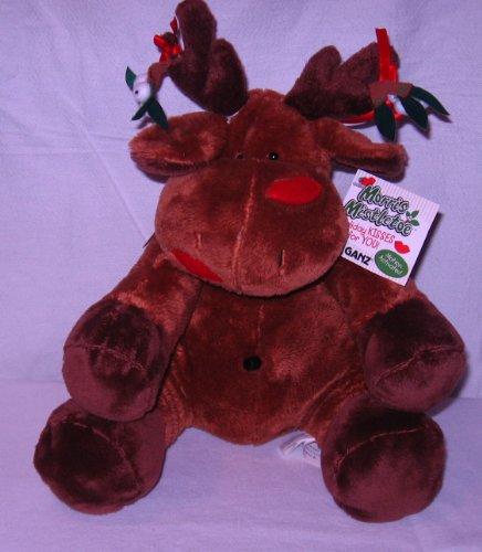 Ganz Morris Mistletoe Reindeer Plush Toy