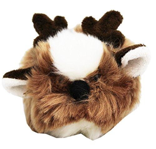 Ganz Tumbleweed Reindeer Round Ball Plush Toy