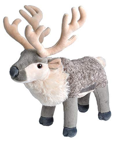 Wild Republic Reindeer Plush Stuffed Animal Plush Toy Kids Gifts Animal Plush 12-inches