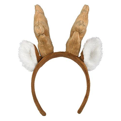 Wildlife Artists White-Tailed Deer Headband Reindeer Plush Toy