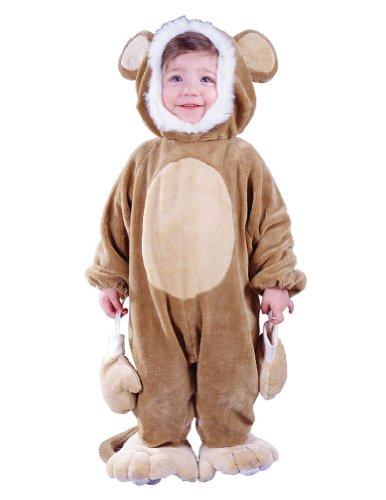 Cuddly Monkey Baby Costume 6-12 Months