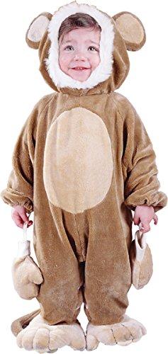 Morris Costumes Cuddly Monkey Todlr 6 12 Mo
